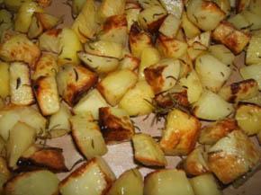 Patate al forno foto: Vincenzo Raneri