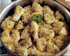 Pollo con l'agliata -- foto: Enzo Raneri