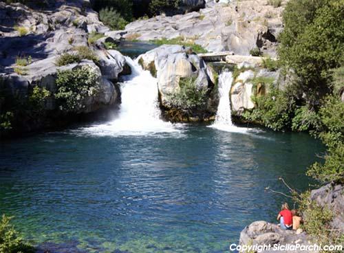 Speciale laghi di sicilia sicilia for Immagini di laghetti artificiali