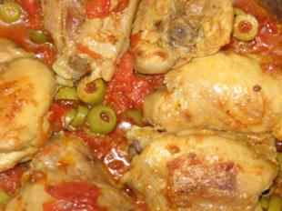 Pollo alle olive (tipico dei Nebrodi) foto: Vincenzo Raneri