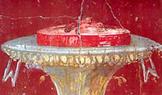 Affresco del triclinio estivo della Villa di Poppea (Torre Annunziata) -- foto: Fabrizio Raneri